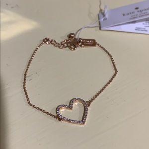Kate Spade Heart Bracelet